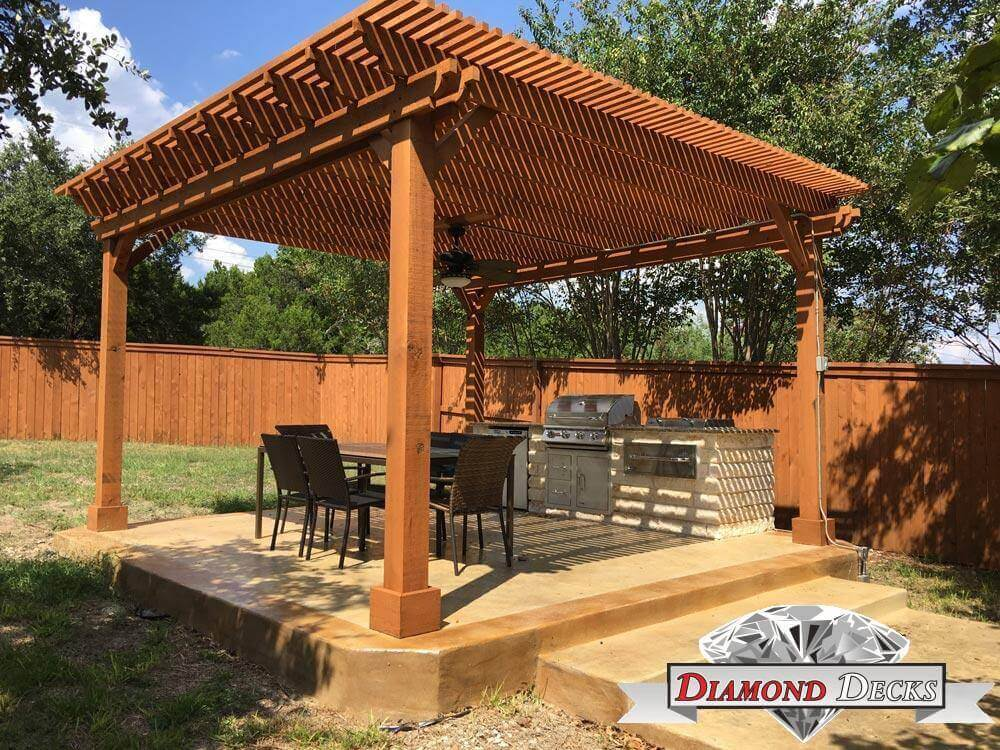 Pergola Builders San Antonio Diamond Decks San Antonio Tx